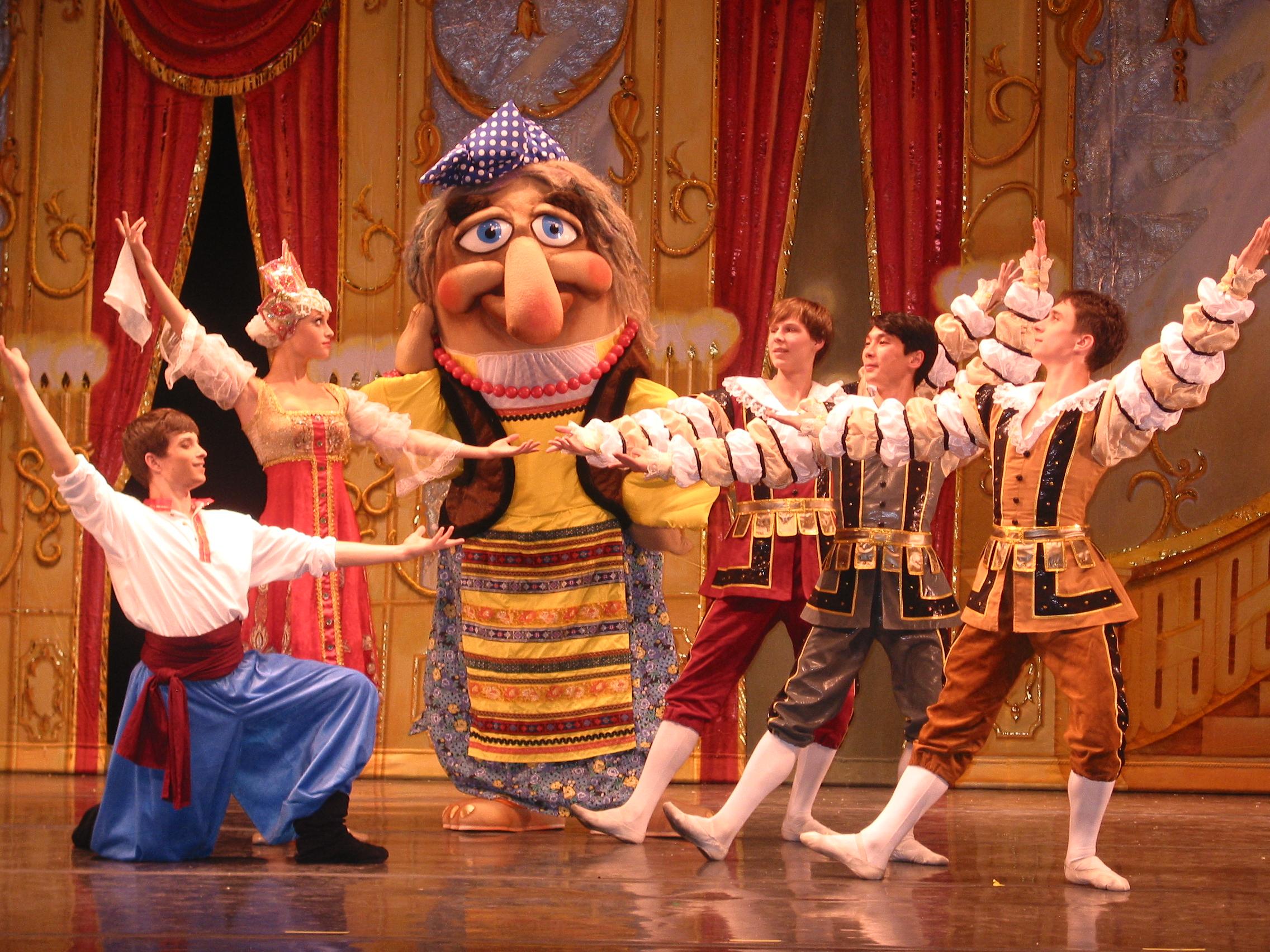 Moscow Ballet's Cinderella and Baba Yoga